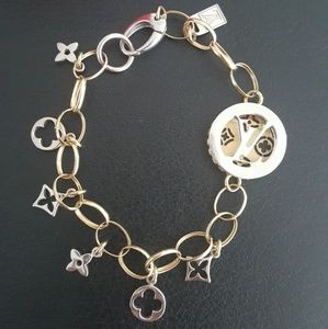 Jewelry - Bracelet White and Yellow gold 14K